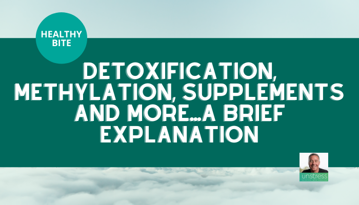 HEALTHY BITE | Detoxification, Methylation, Supplements : A Brief Explanation